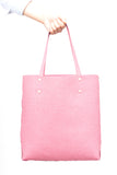Asmbly Shopper Tote - Make Your Own Bag DIY (Pink PU)