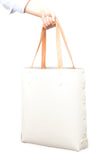 A Tote You Construct Yourself - White Asmbly Shopper Tote