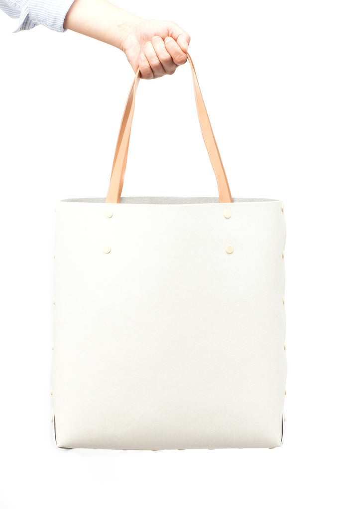 DIY White Shopper Tote by Asmbly