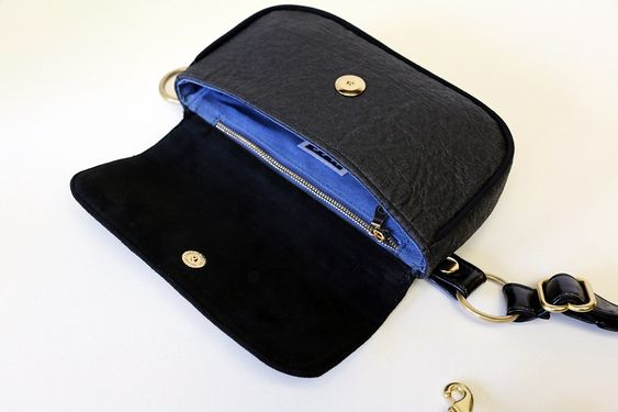 HFS Classic Belt Bag - Black Piñatex