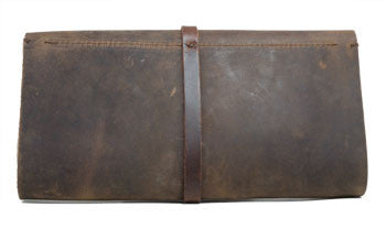 Jo Handbags Boot Leather Wallet Brown Classic Clutch Design