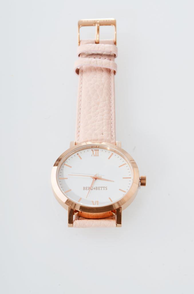 BERG+BETTS Watch Original Rose Gold and Blush