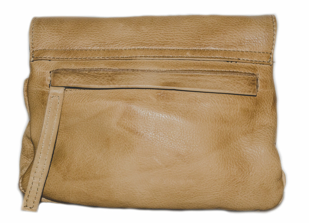 Day & Mood Elderflower Crossbody Handbag in Camel