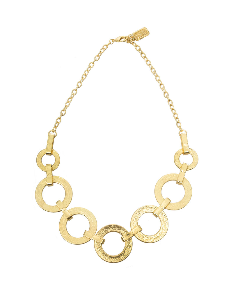 Karine Sultan Marie Link Collar Necklace