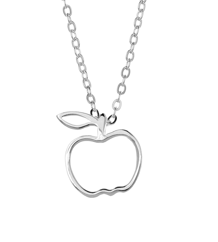 Samantha Faye Small Apple Pendant Necklace