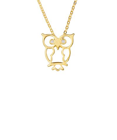 Samantha Faye Small Scissor Pendant Necklace