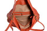 Lancaster Dune Shoulder Handbag in Pumpkin
