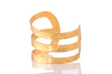 Karine Sultan Cuff - 24K Gold Plated