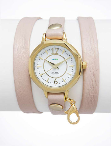 La Mer Collections The Gold/Gold Monaco Watch