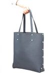 Large Shopper Tote in Navy Blue by Asmbly
