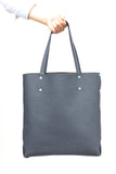DIY Tote by Asmbly - Navy Blue PU Shopper Tote
