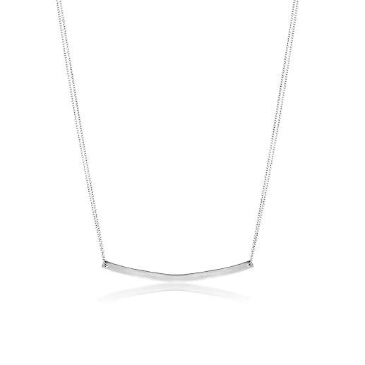Elegant Adina Reyter Small Arc Necklace in Sterling Silver, Fine Jewelry