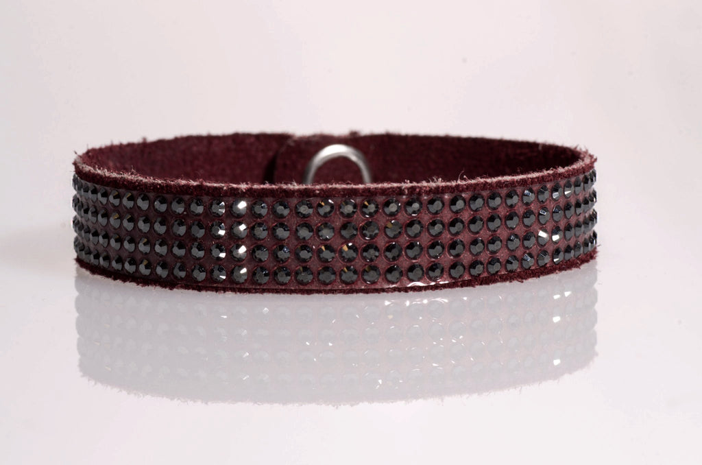 HT Leather Goods Prairie Smoke Leather Bracelet