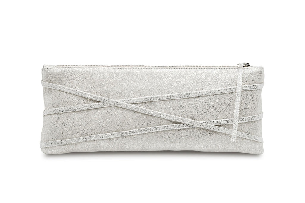 feNa Fairy Dust ladie's leather wristlet clutch purse