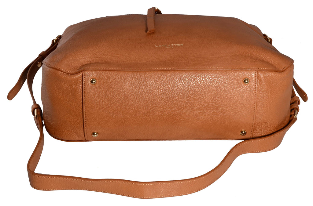Lancaster Dune Handle Bag Camel