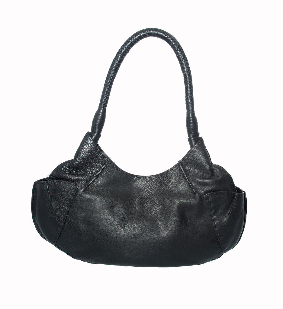Catherine Adair Mitra Black Handbag