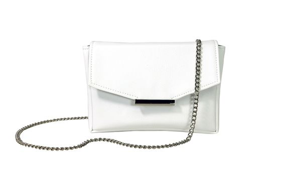 HFS Convertible Belt Bag - White Vegan Leather