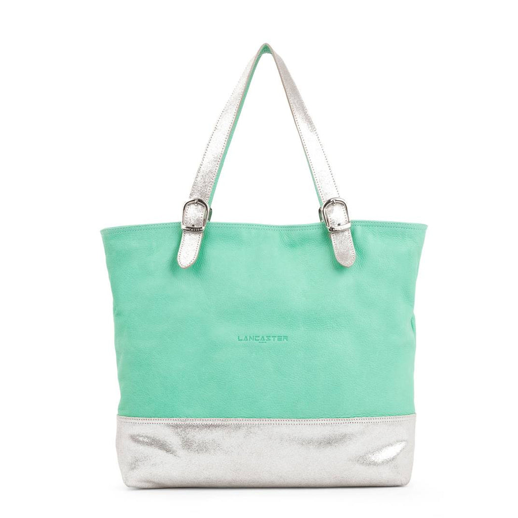Lancaster Paris Cabas Soft Tote Mint