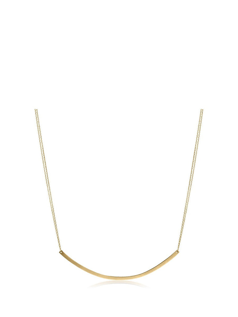 Adina Reyter Large Arc Necklace in Gold