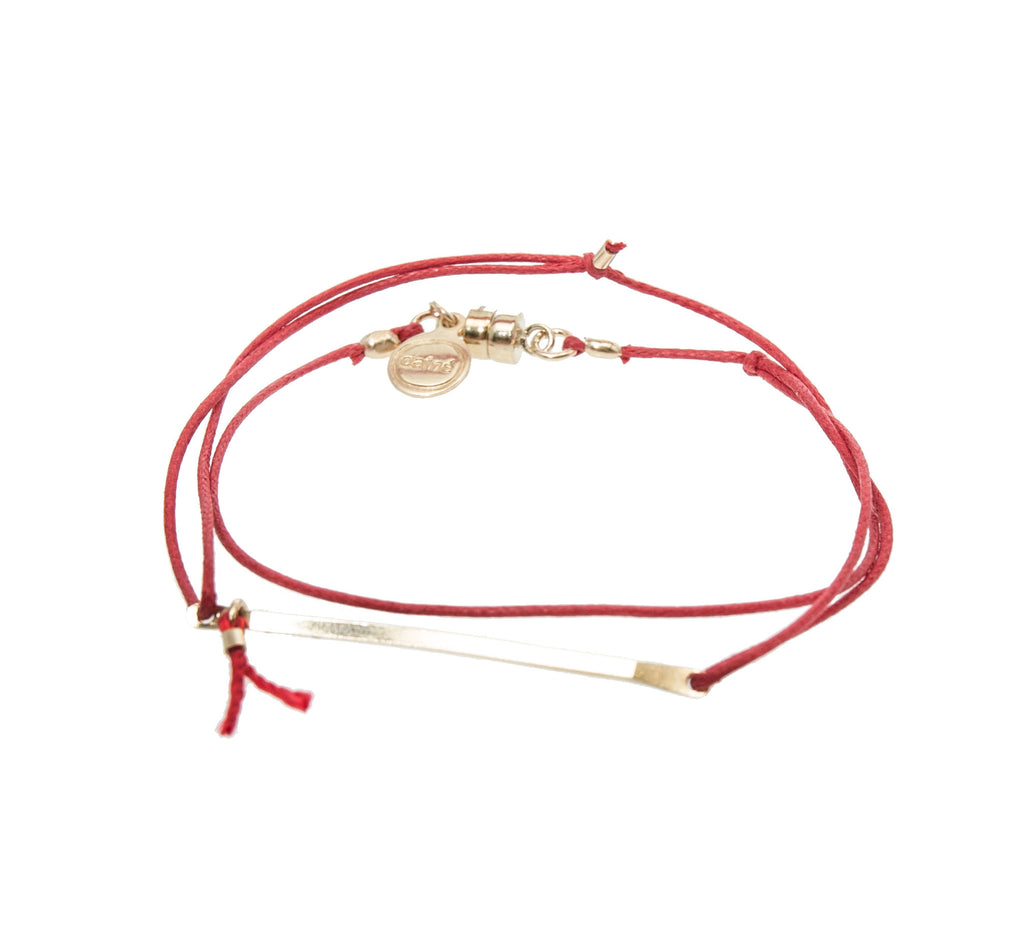 dafne` Jewelry Lucky Barre Wrap Bracelet