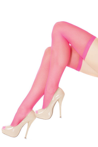 Fishnet Thigh High Stockings (1735)