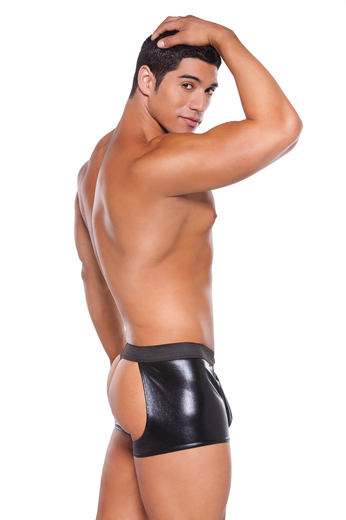 Wetlook Chaps with Thong (33-6402Z)