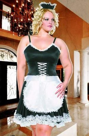 Diva Frisky French Maid Costume (M1397)