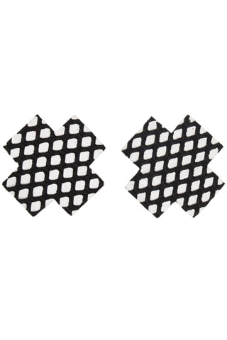 Fishnet Cross Pasties (7250)