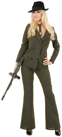 Gangster Sexy 3 Piece Suit Costume