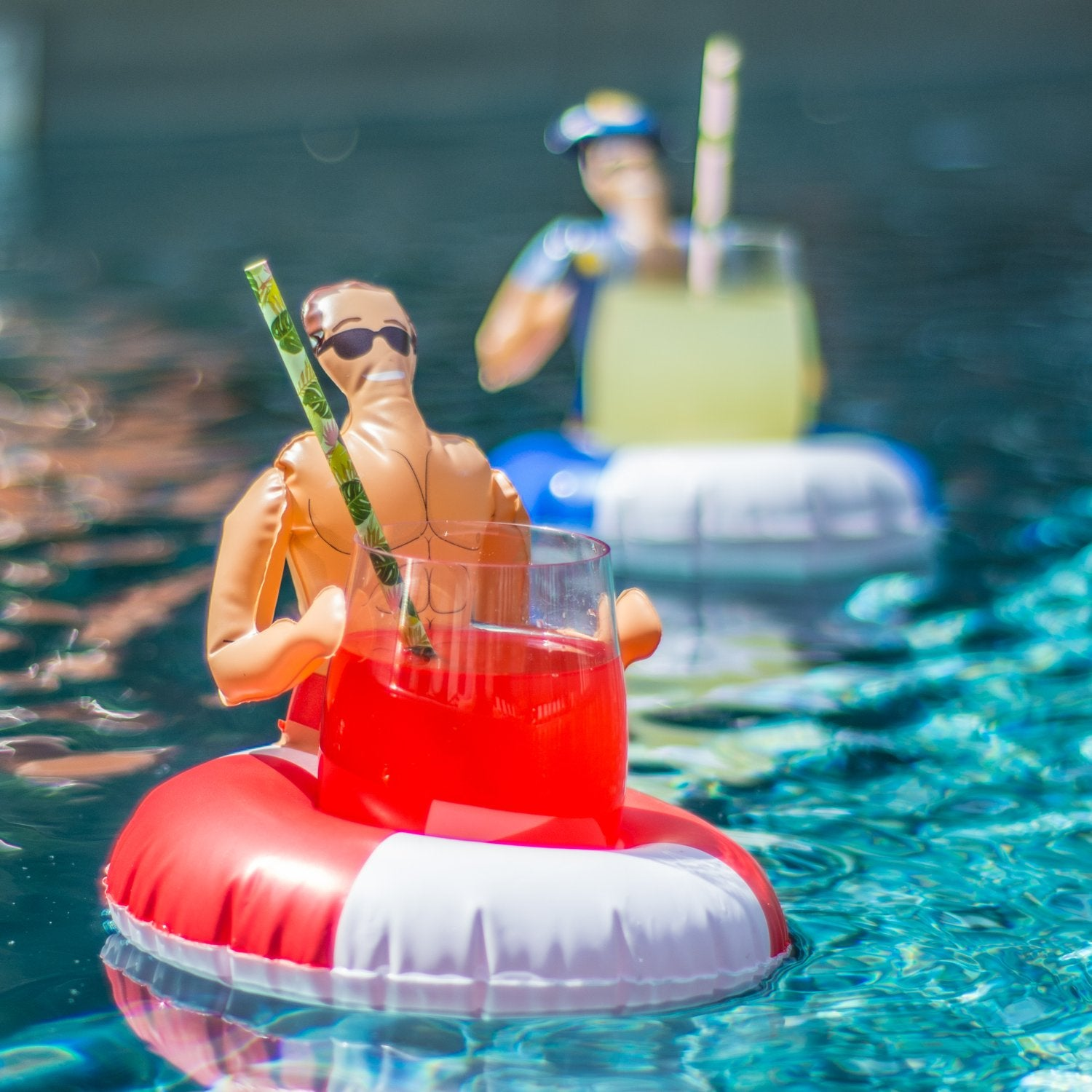 Floating Hunky Drink Holders