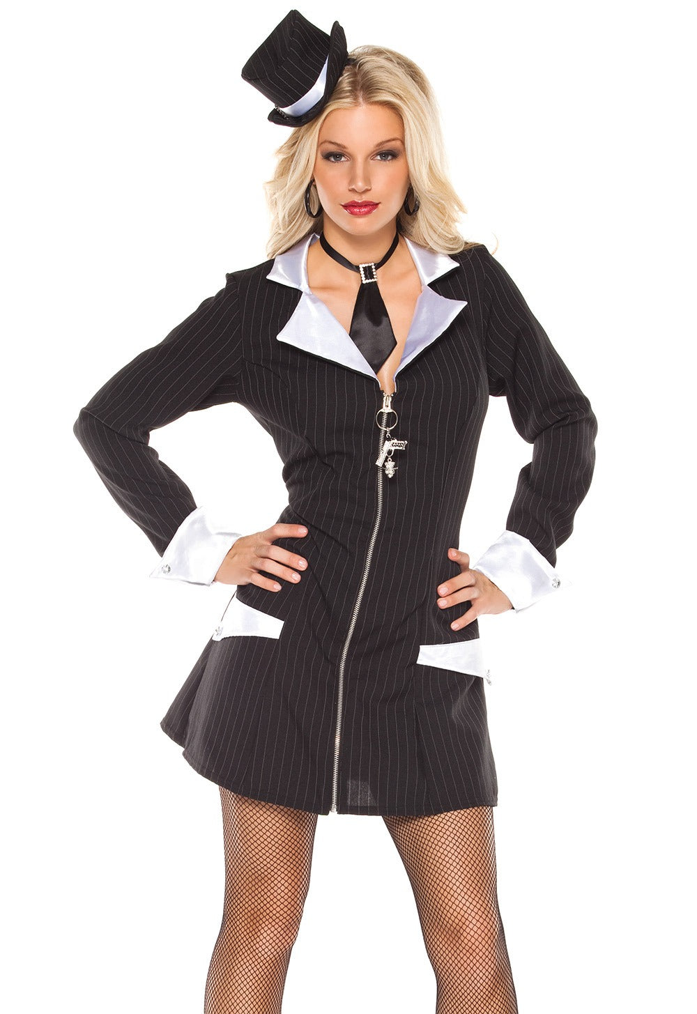 Gangster Girl Costume (M6124)