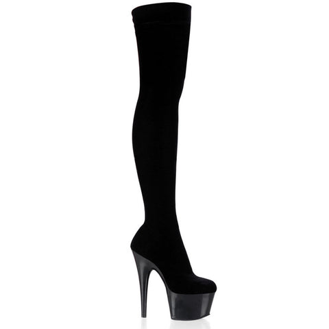 Lycra Stretch Thigh-High Boot (ADO3002)