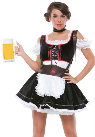 Beer Girl Costume (M6113)