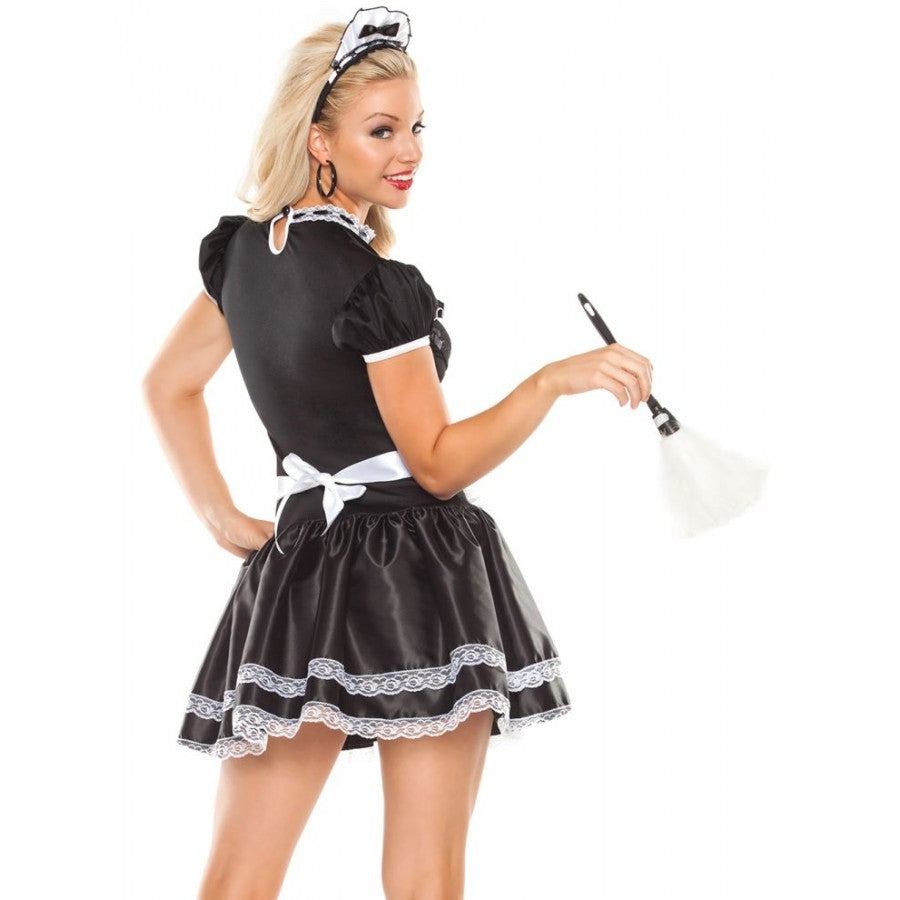 Flirty French Maid Costume (M6138)