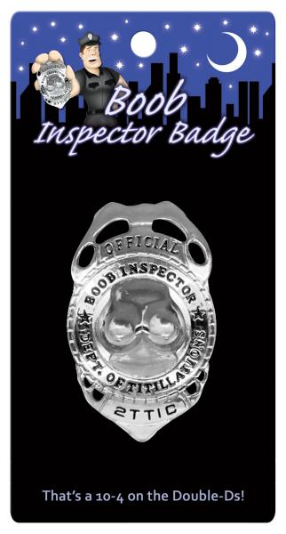 Naughty Inspector Badge