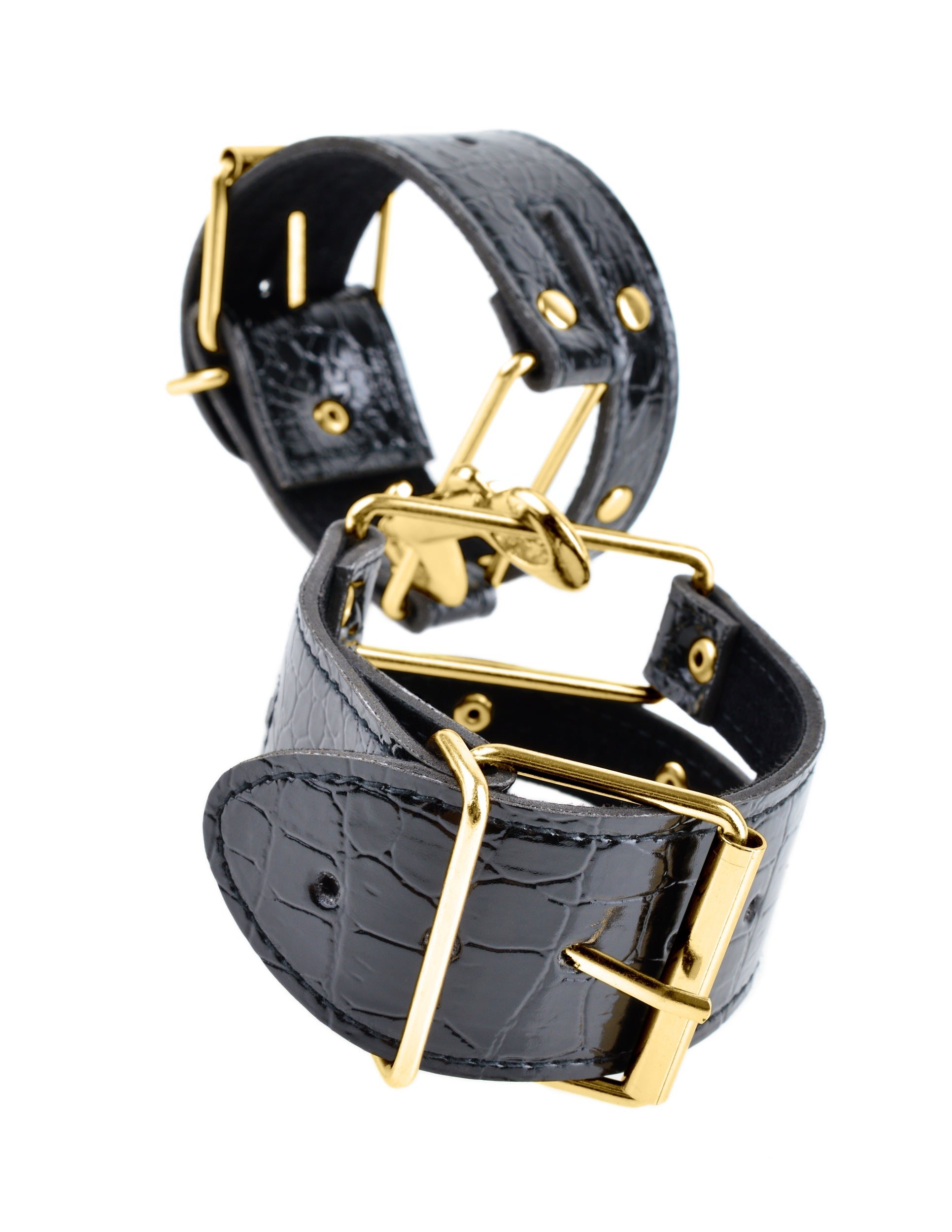 Black and Gold Cuffs