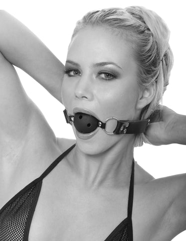 Ball Gag with Nipple Clamps