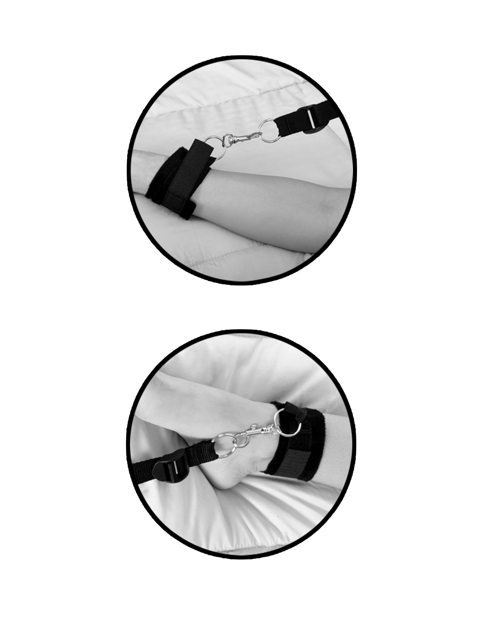 Wrap-o-Around Mattress Restraints Kit