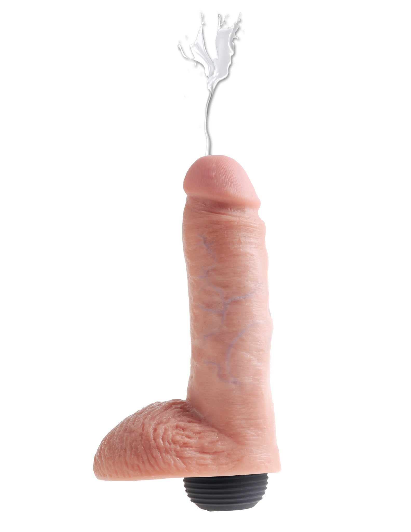 "King Cock 8"" Squirting Cock w/ Balls"