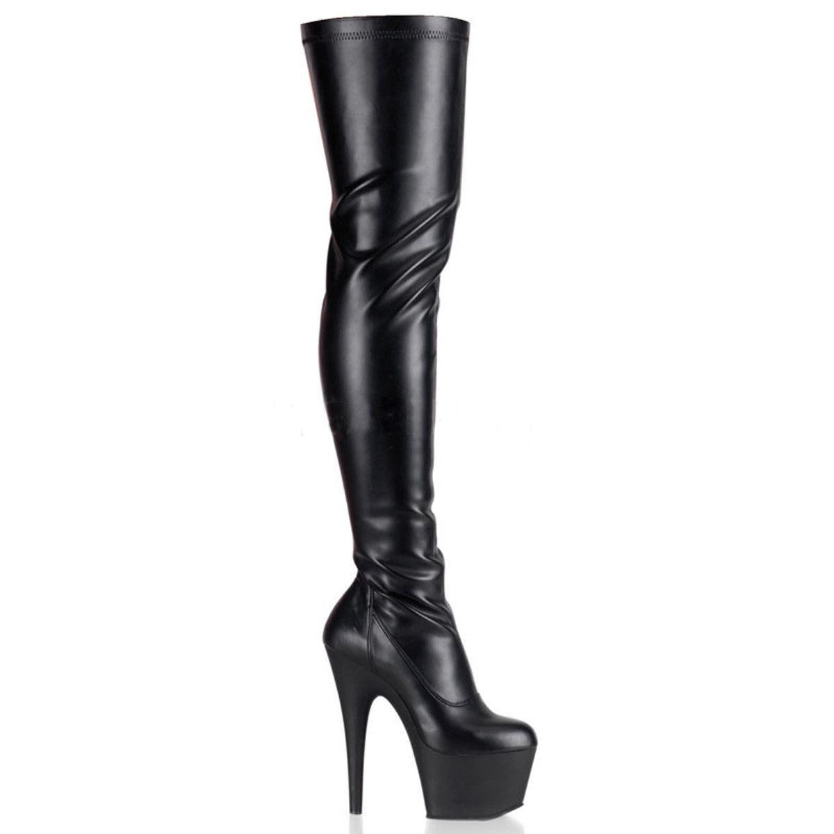 Thigh-High Stiletto Platform Boot (Adore 3000)