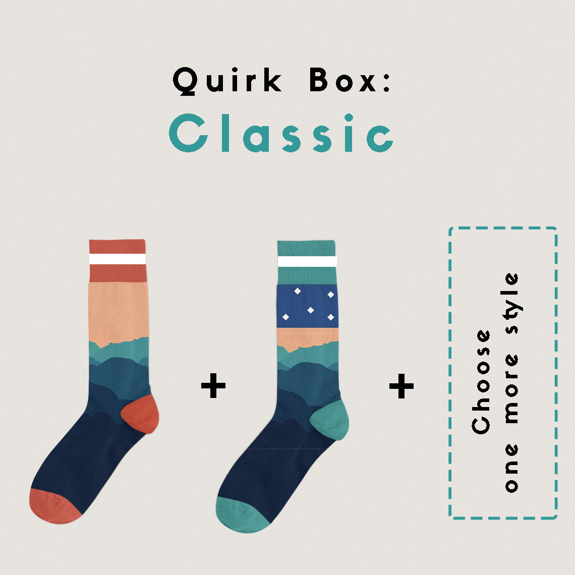 Quirk Box: Classic - Man (3 Months Subscription)
