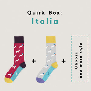 Quirk Box: Italia - Man (1 Month Subscription)