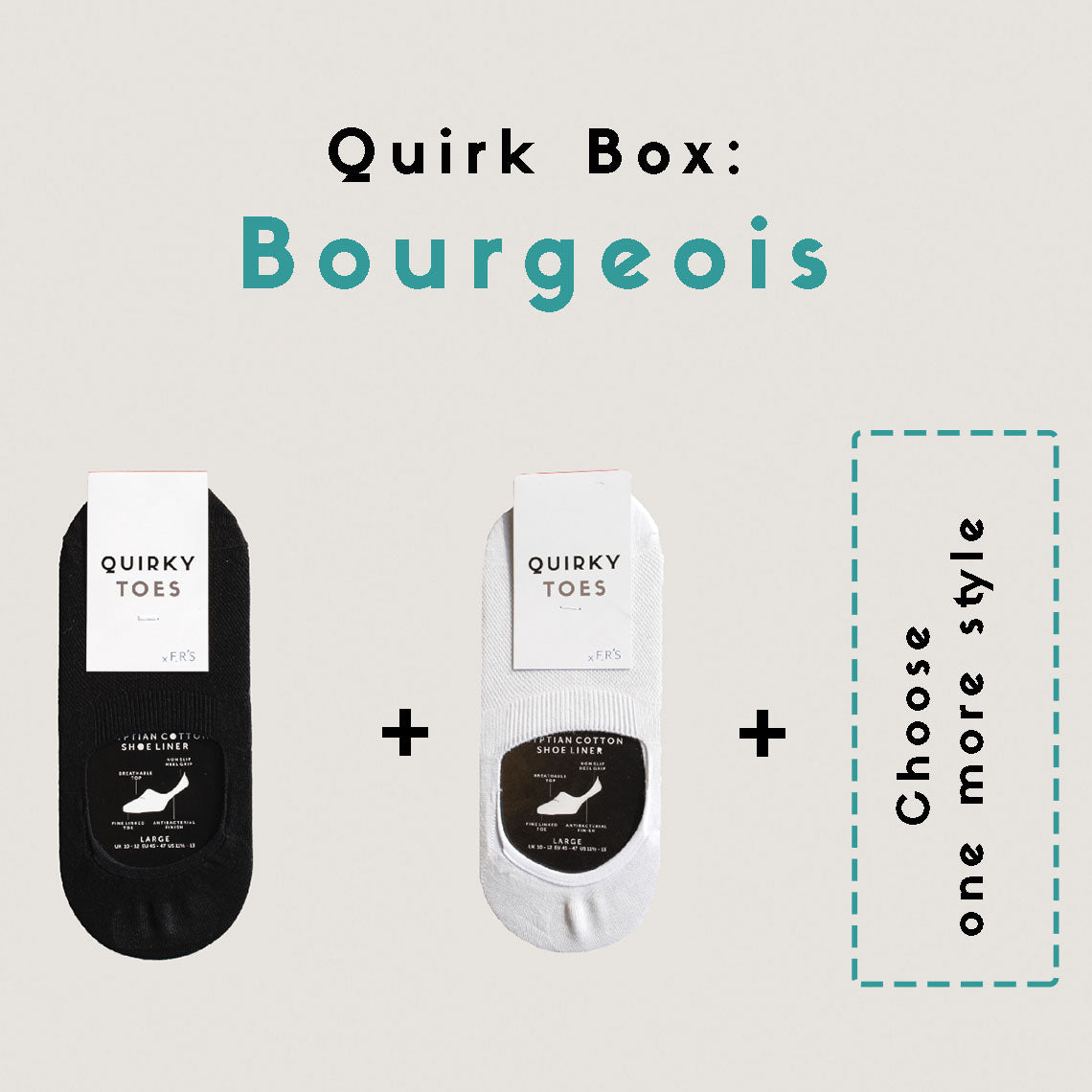 Quirk Box: Bourgeois - Woman (1 Month Subscription)