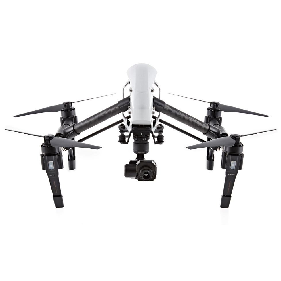 DJI Inspire 1 V2 0 + Zenmuse FLIR XT Thermal Camera Bundle