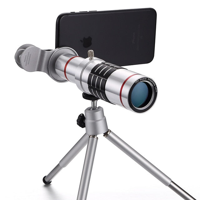 18X Zoom Optical Lens