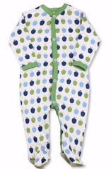 Green Apple Organic Cotton Footie
