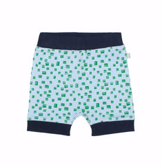 Robot Heads Organic Cotton Shorts