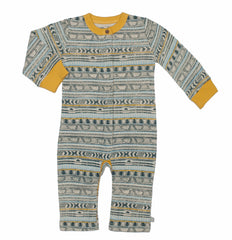 Tribal Stripe Organic Cotton Coverall