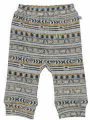Tribal Stripe Organic Cotton Pants