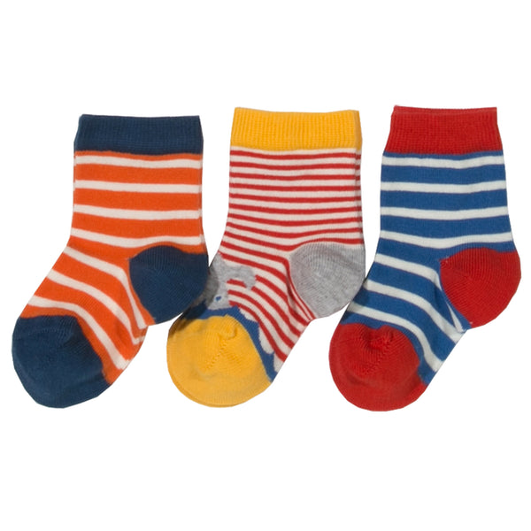 Stripe Organic Cotton Socks